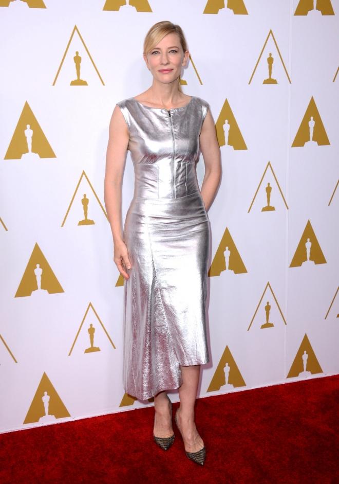 Cate Blanchett, nominada a Mejor Actriz por 'Blue Jasmine'