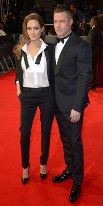 Angelina Jolie sorprendió con su look en los BAFTA 2014, pero se situó entre las más elegantes