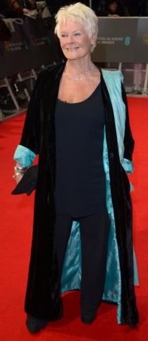 Dame Judi Dench, entre las peor vestidas de los BAFTA 2014
