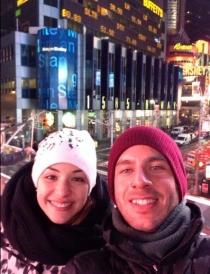 El San Valentín de Sonia Walls y Kristian en Nueva York.