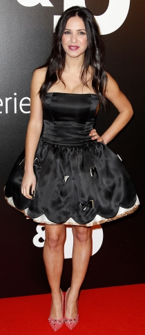 Paula Prendes, con un look muy sexy en el estreno de ByB