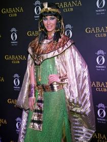Elisabeth Reyes, de Cleopatra en los Carnavales 2014