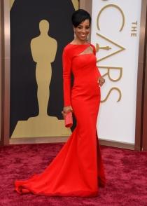 Shaun Robinson, en la alfombra roja de los Oscars 2014