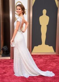 Maria Menounos, en la alfombra roja de los Oscars 2014