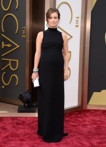Olivia Wilde, en la alfombra roja de los Oscars 2014