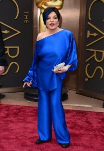 Liza Minnelli, en la alfombra roja de los Oscars 2014