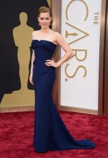 Amy Adams, en la alfombra roja de los Oscars 2014