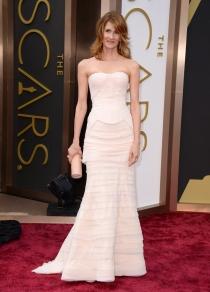 Laura Dern, en la alfombra roja de los Oscars 2014
