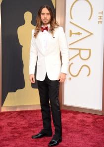 Jared Leto, en la alfombra roja de los Oscars 2014