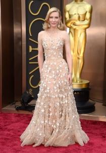 Cate Blanchett, en la alfombra roja de los Oscars 2014