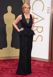 Julia Roberts, en la alfombra roja de los Oscars 2014