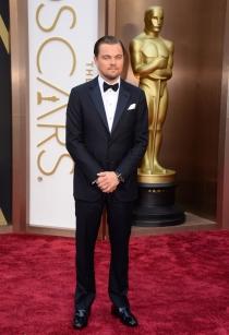 Leonardo DiCaprio, en la alfombra roja de los Oscars 2014