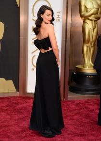 Margot Robbie, en la alfombra roja de los Oscars 2014