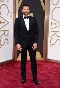 Bradley Cooper, en la alfombra roja de los Oscars 2014