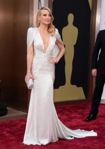 Kate Hudson, en la alfombra roja de los Oscars 2014