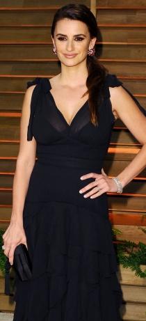 Oscars 2014: Vestido de Penélope Cruz en la fiesta de Vanity Fair
