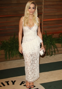 Rita Ora, en la fiesta Vanity Fair posterior a los Oscars 2014