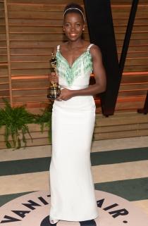 Lupita Nyong'o se pasó al blanco tras la gala de los Oscars 2014