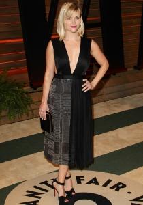 El escotazo de Reese Witherspoon en la fiesta posterior a los Oscars 2014