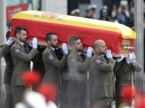 Los restos mortales de Adolfo Suárez llegan al Congreso de los Diputados