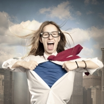 Autoestima es valentía: una mujer valiente puede con todo
