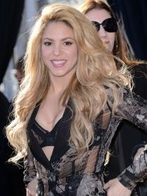 Shakira, novia de Piqué, jugador de la Selección Española de Fútbol
