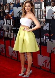 Jessica Alba, hortera en los Premios MTV Movie Awards 2014