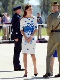 Kate Middleton, la primavera llega a sus vestidos