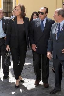 Curro Romero y su mujer Carmen Tello, protagonistas de la Semana Santa de Sevilla