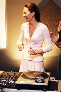 Kate Middleton, la DJ más graciosa de la Casa Real británica