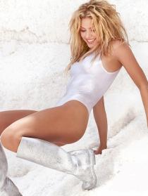 Shakira, novia de Gerard Piqué, jugador de la Selección Española de Fútbol