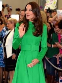 Kate Middleton llena Australia de verde esperanza