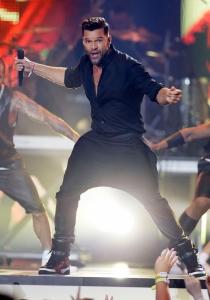 Ricky Martin puso el ritmo en los Latin Billboard 2014