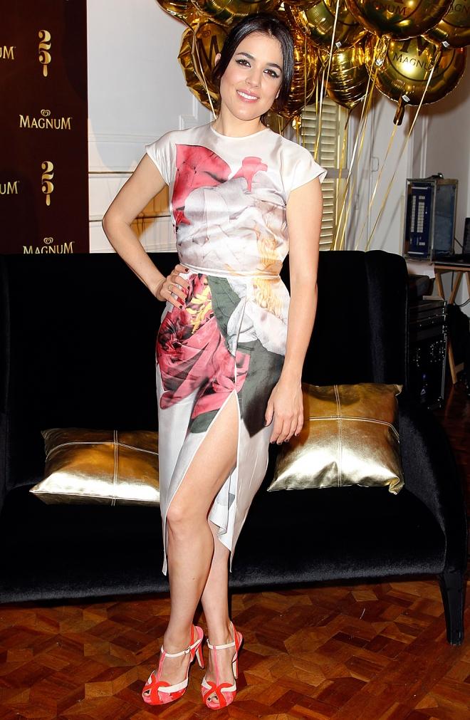 El look más oriental de Adriana Ugarte