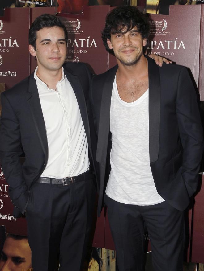 Mario Casas y su hermano Christian, unidos por el cine