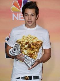 Austin Mahone, rey de Instagram en los iHeart Radio Music Awards 2014