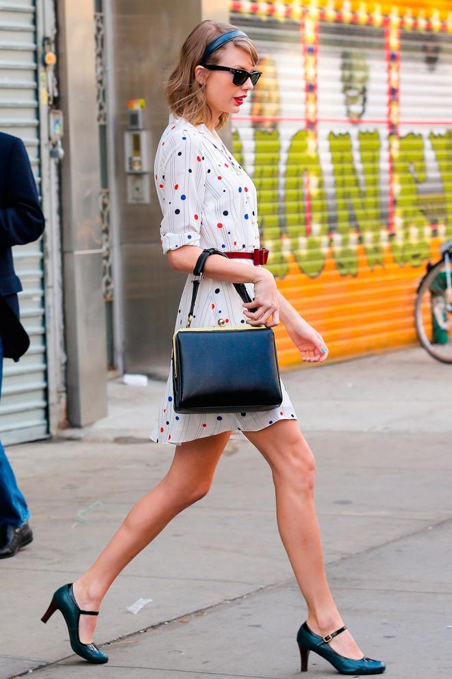 Taylor Swift, perfecta hasta saliendo del gimnasio