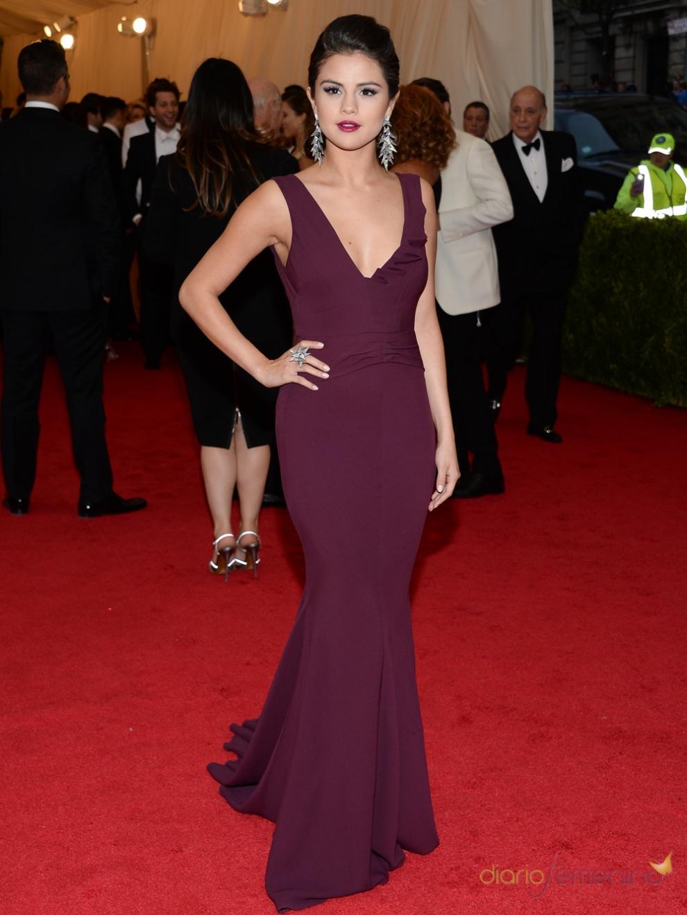 El vestido de madre de Selena Gomez para la Gala MET 2014