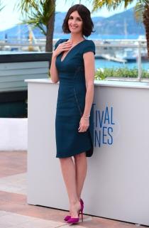 Paz Vega, en la presentación de Grace of Monaco en el festival de Cannes 2014