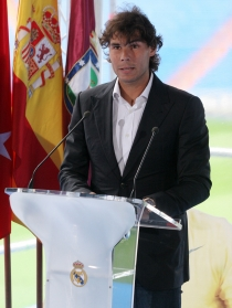 Rafa Nadal, el tenista más madridista del circuito