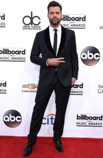 Ricky Martin, el más elegante de los premios Billboard 2014