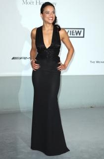 Michelle Rodríguez acompaño a Cara Delevingne en Cannes 2014