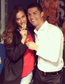 Irina Shayk, la primera en felicitar a Cristiano tras la final de Champions