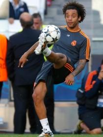 Marcelo, lateral izquierdo de Brasil para el Mundial 2014