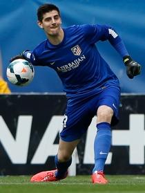 Thibaut Courtois, el portero titular belga para el Mundial 2014