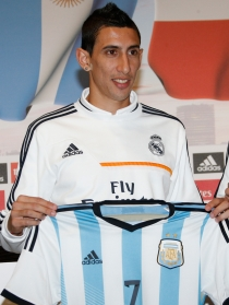 Ángel Di María, el crack madridista espera repetir éxito en el Mundial 2014