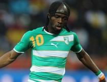 Gervinho, el goleador de Costa de Marfil en el Mundial 2014