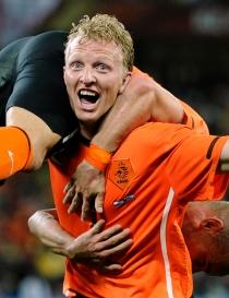 Dirk Kuyt, delantero holandés, entre los más feos del Mundial 2014