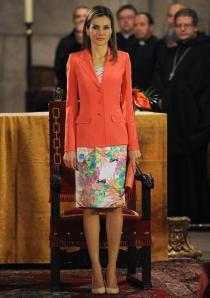 El primer look de Letizia tras la abdicación de Juan Carlos I