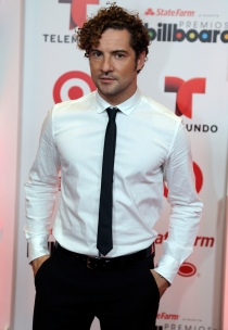 David Bisbal en los premios Billboard Latino 2014